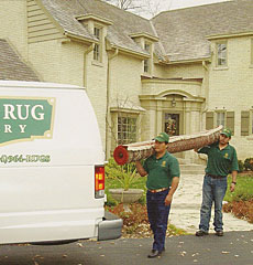 Rug Pickup and Delivery
